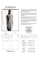 Merchant and Mills - Factory Dress - sewing pattern